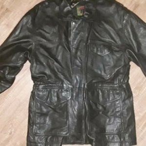 Boston Traders Men's Leather Insulated Jacket L